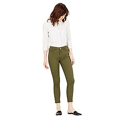 Warehouse - Cropped signature skinny jeans