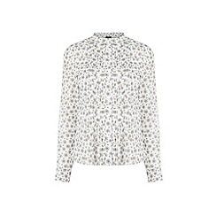 Warehouse - Dandelion Pintuck Blouse