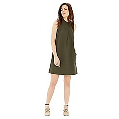 Warehouse - Compact crepe shift dress