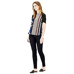 Warehouse - Blocked stripe top