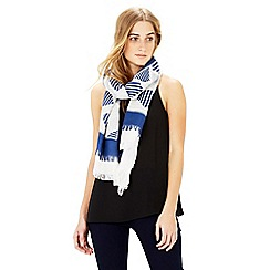Warehouse - Double layer diamond scarf