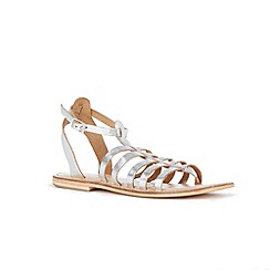 Warehouse - Metallic gladiator sandal