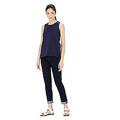 Warehouse - Cotton broderie tank