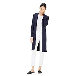 Warehouse - Slim rib split side cardi