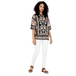 Warehouse - Latina floral t-shirt