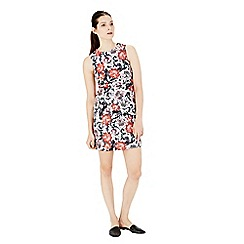 Warehouse - Floral print shift dress