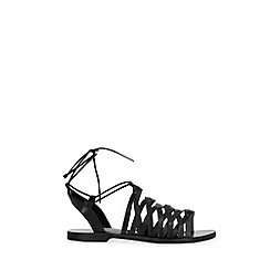 Warehouse - Strappy Tie Sandal