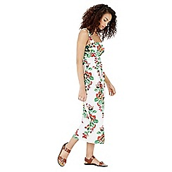 Warehouse - Botanical Floral Midi Dress