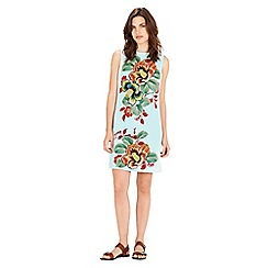 Warehouse - Botanical floral shift dress
