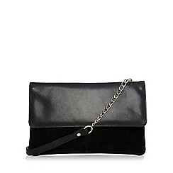 Warehouse - Suede And Leather Crossbody