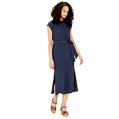 Warehouse - Knot front midi dress