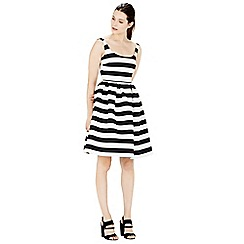 Warehouse - Stripe prom dress