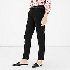 Warehouse - Belted tailored trouser
