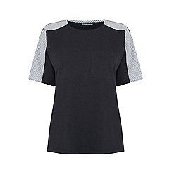 Warehouse - Poplin Mix Tee