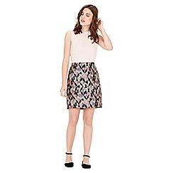 Warehouse - Diamond Ikat Pelmet Skirt