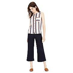 Warehouse - Stripe Sleeveless Shirt