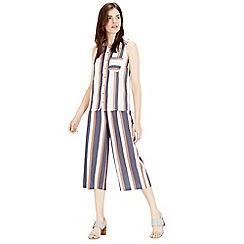 Warehouse - Stripe Culotte