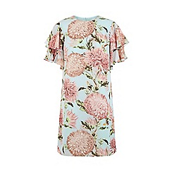 Warehouse - Pom Pom Print Shift Dress