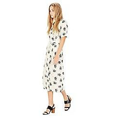 Warehouse - Stencil Floral Dress