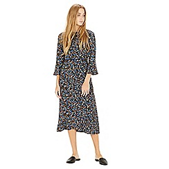 Warehouse - Ditsy Floral Midi Dress