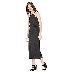 Warehouse - Square Neck Plisse Dress
