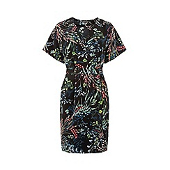 Warehouse - Meadow Floral Wrap Dress
