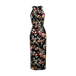 Warehouse - Oriental floral dress