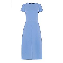 Warehouse - Split Front Midi Dress