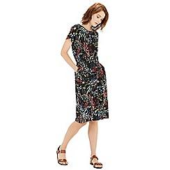 Warehouse - Meadow floral T shirt dress