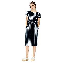 Warehouse - Stripe T Shirt Dress