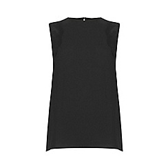 Warehouse - Sleeveless Lace Detail Top