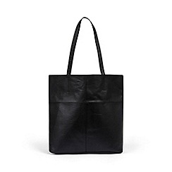 Warehouse - Leather Unlined Shopper Bag