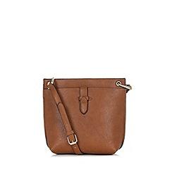 Warehouse - Double Tab Crossbody Bag