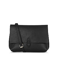 Warehouse - Double Tab Detail Clutch Bag