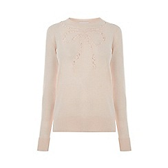 Warehouse - Lace Bow Jumper