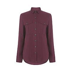 Warehouse - Relaxed Pocket Detail Shirt