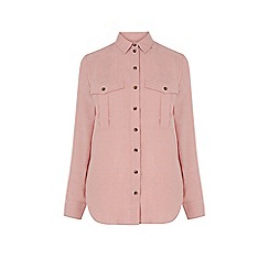 Warehouse - Relaxed Pocket Detail Shirt