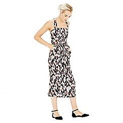 Warehouse - Fuzzy Print Dress