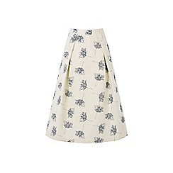 Warehouse - Stem Floral Prom Skirt