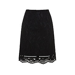 Warehouse - Bonded Lace Pelmet Skirt