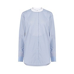 Warehouse - Oversized Stripe Grandad Shirt