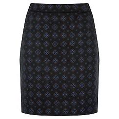 Warehouse - Tile Jacquard Skirt