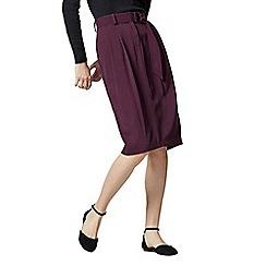 Warehouse - D-Ring Crepe Skirt