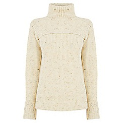 Warehouse - Nep Roll Neck Jumper