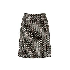 Warehouse - Sparkle Tweed Pelmet Skirt