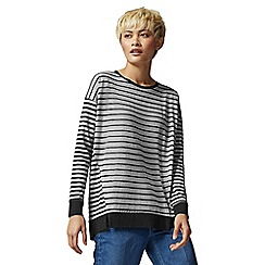 Warehouse - Stripe Pleat Back Top