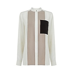 Warehouse - Colourblock Shirt