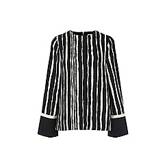 Warehouse - Torn Stripe Top