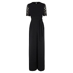 Warehouse - Lace Sleeve Jumpsuit
