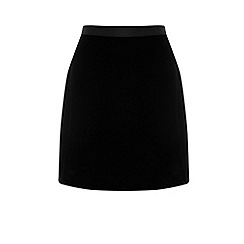 Warehouse - Velvet Pelmet Skirt
